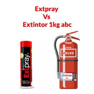 extpray contra extintor polvo 1kg