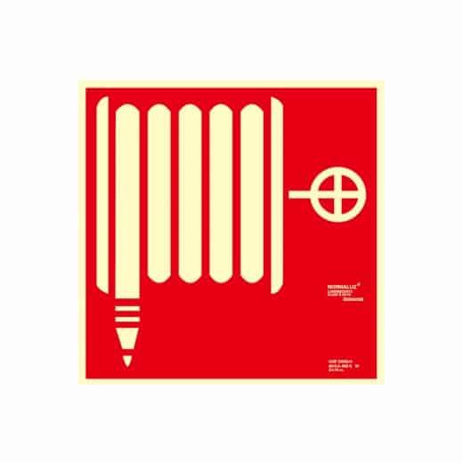 señal boca de incendio
