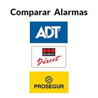 Comparar alarmas de seguridad