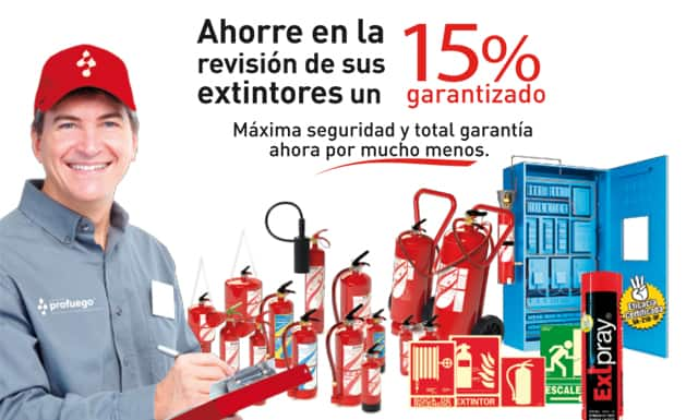 promocion extintores