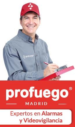 alarmas PLG madrid PROFUEGO