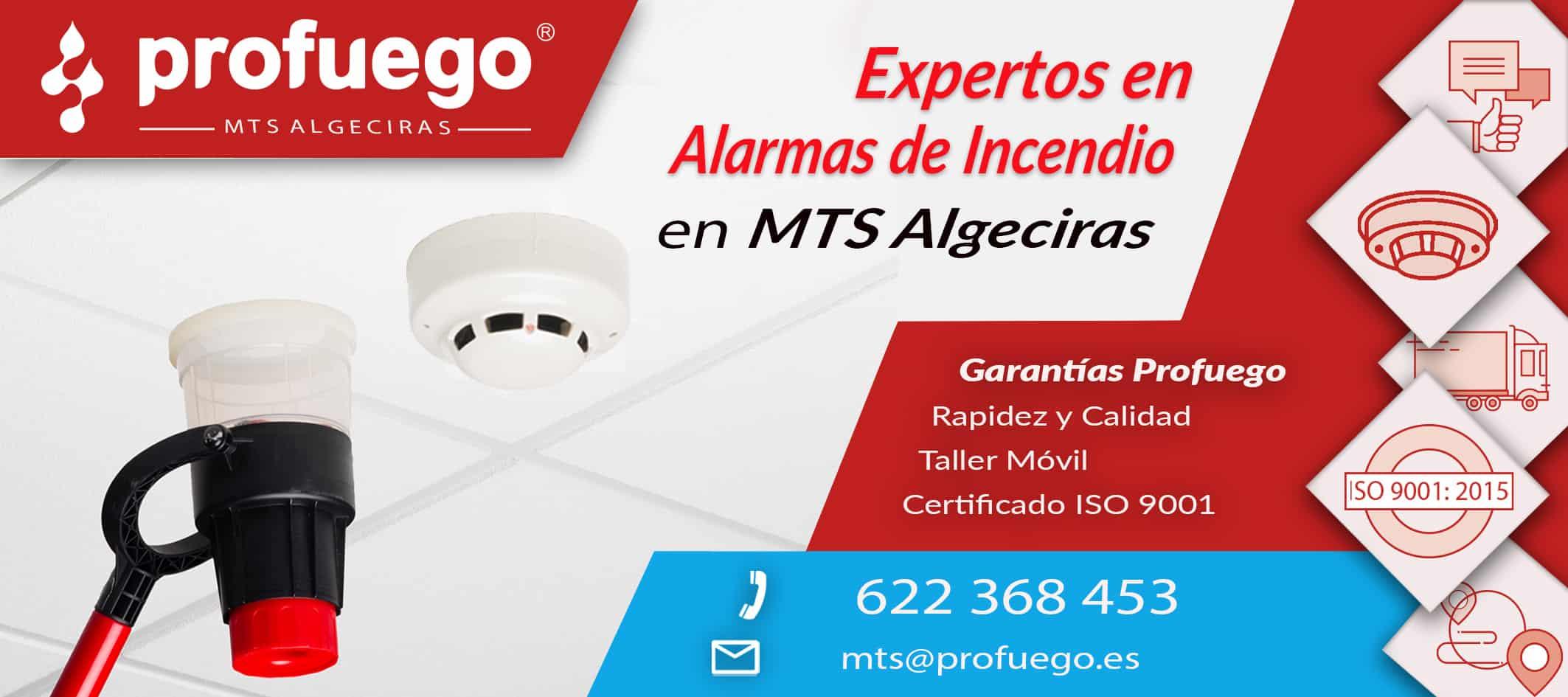 Alarmas mts Algeciras