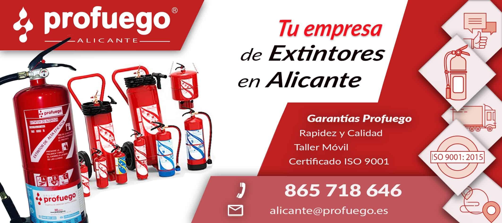 extintores alicante