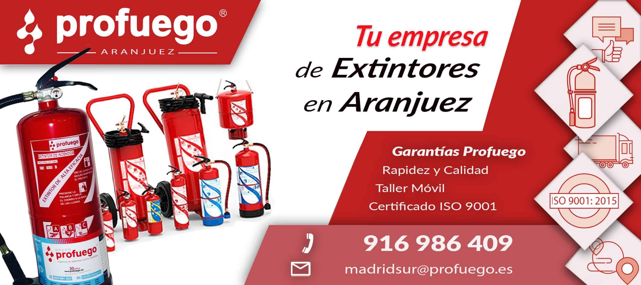 extintores aranjuez