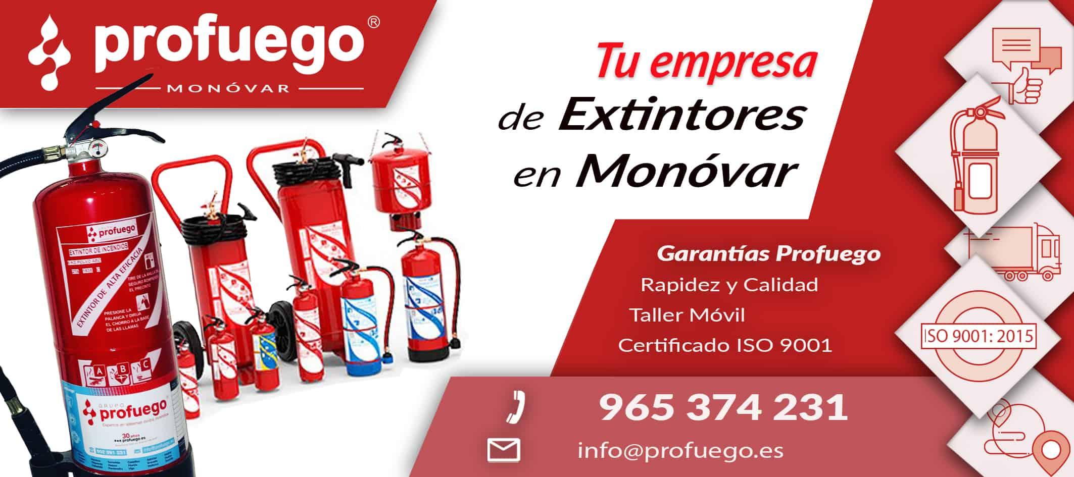 extintores monovar