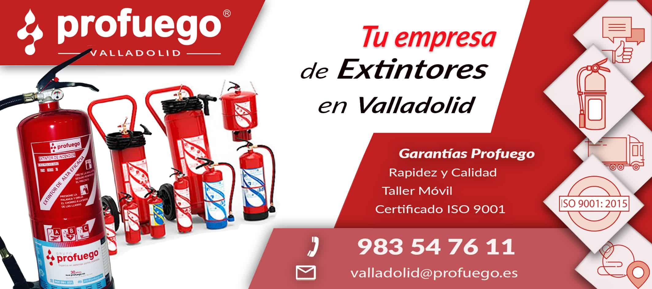 extintores valladolid