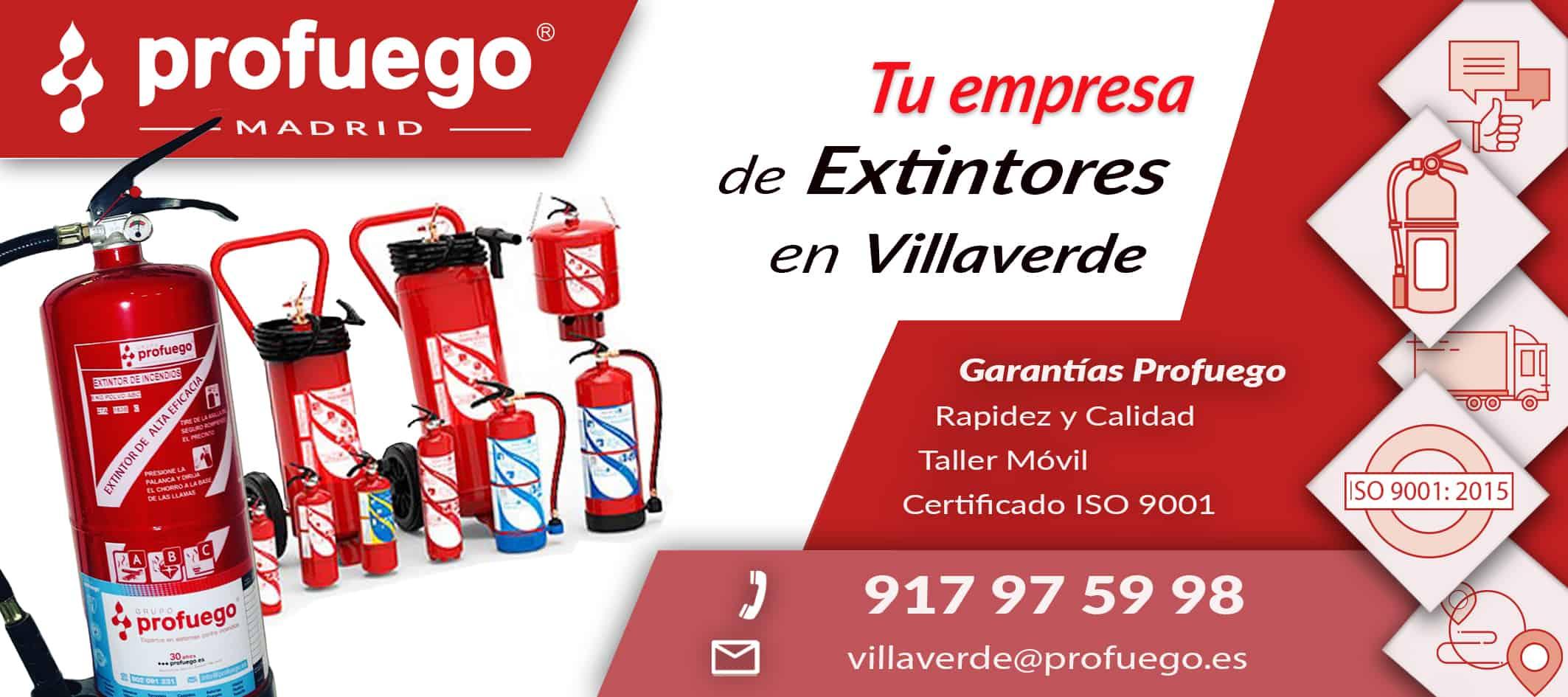 extintores villaverde