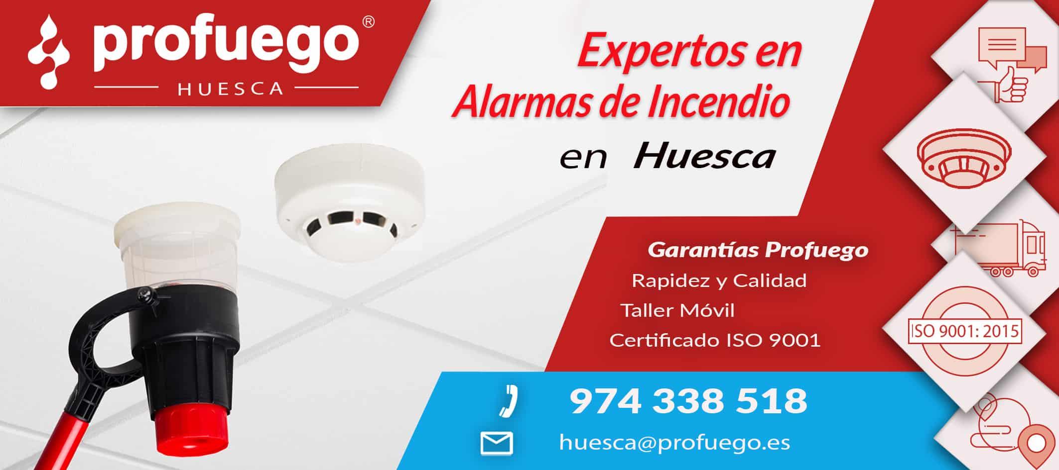 alarmas  Huesca