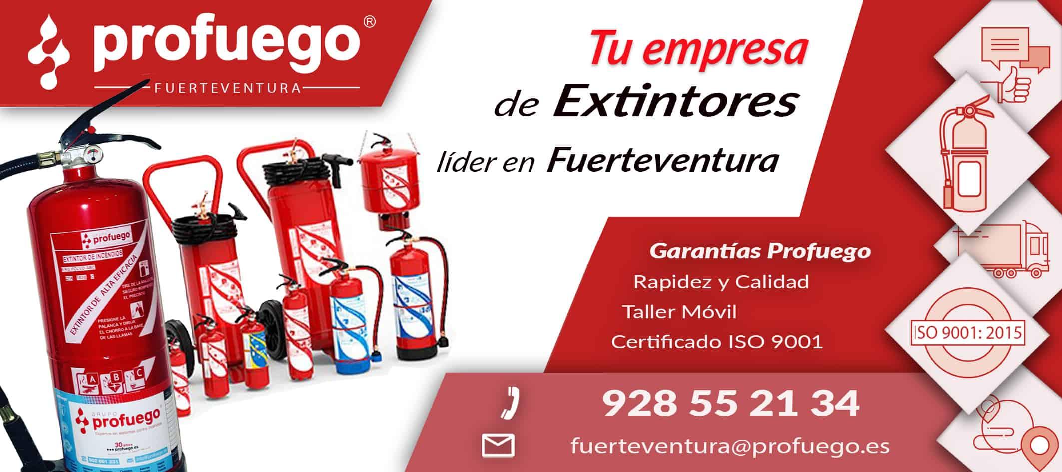 extintores fuerteventura