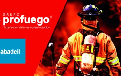 Grupo Profuego y Banco Sabadell firman un acuerdo nacional para sus Franquicias